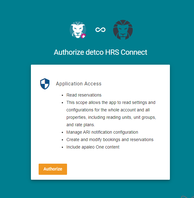 Required OAuth Access